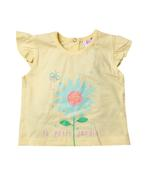 Lily & Jack Baby Girls Top & Shorts ,Lemon/Denim,JCGS21R18357