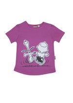 Peanuts Girls T-shirt With Short Set , Purple - HWGLS21PNS51A