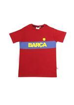 FCB Boys T-Shirt With Shorts Set,Maroon-HWGLS21FCB03