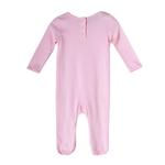 Rock a Bye Baby Baby Girls Sleepsuit , Baby Pink , JCGS20R18860