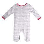 Rock a Bye Baby Baby Girls Sleepsuit , Grey Melange , JCGS20R18856