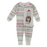 Chiquitos Baby Boys Open Feet Sleepwear , Cream - BAGCB302