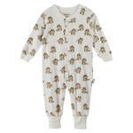 Chiquitos Baby Boys Open Feet Sleepwear , Cream - BAGCB102