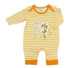 Disney Baby Hugs And Hunny Baby Boys Sleepsuit, White/Orange-NCGDBIBCPR1B