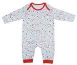 Disney Baby Minnie Baby Girls Sleepsuit, White/Red-NCGDBIBCP13A