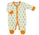 Disney Baby Hugs And Hunny Baby Boys Sleepsuit, White/Orange-NCGDBIBCPR1A