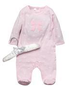 Rock A Bye Baby Baby Girls Sleepsuit , Pink - JCGS21T20328