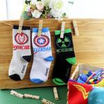 Marvel Avengers Boys 3Pair Socks Set,Multi,TCGLTRHA460