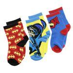 Batman Boys 3Pair Socks Set,Multi,TRHA1893