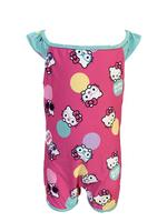 Hello Kitty Girls Swimwear Swimsuit , Mint/Pink - HWGLS21SWHK4S