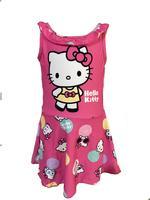 Hello Kitty Girls Swimwear Dress , Pink - HWGLS21SWHK1S