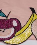 Little Kangaroos Girl Tees , Peach - ROGS2019512A