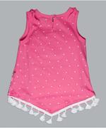 Little Kangaroos Girl Tees , Deep Pink - ROGS201964C