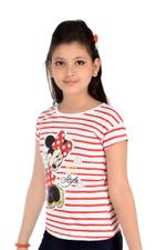 Minnie Mouse Top White/Red-HWGLMM96