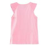 Disney Princess Girls Knit Top, Peach-HWGLPR89