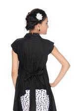 Nexgen Girls Girls Stylish Top,Black-MCG704C