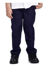Zebra Crossing Boys School Uniform Trouser , Navy - VCG059COL2