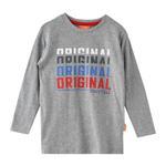 Nexgen Juniors Boys T-shirt , Grey Melange - HDGLW20B2095