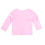 Smart Baby Baby Girls Full Sleeves Plain T-shirts, Pink-SIMG48001FTS