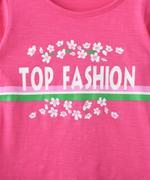 Nexgen Girls Girl Full Sleeve T-shirt , Coral - SNGAW2036699