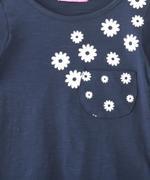 Nexgen Girls Girl Full Sleeve T-shirt , Navy - SNGAW2036698