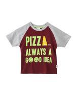 Nexgen Juniors Boys T-shirt , Maroon - SNGS2034716