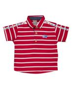 Little Kangaroos Baby Boy Polo T-shirt , Red - ROGS2019413A
