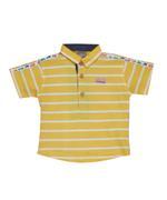 Little Kangaroos Baby Boy Polo T-shirt , Yellow - ROGS2019413D