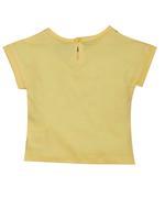 Little Kangaroos Baby Girl T-shirt , Yellow - ROGS2019855A