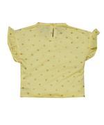 Little Kangaroos Baby Girl T-shirt , Yellow - ROGS2019903D