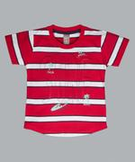 Little Kangaroos Boys T-shirt , Red - ROGS2019070A