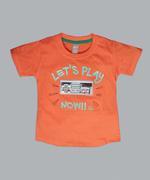 Little Kangaroos Boys T-shirt , Orange - ROGS2019064A