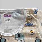 Smart Baby Baby Boys 2 Piece Pack T-shirt , Aqua/Cream Butter - NCGSS21SBPB1A