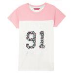 Nexgen Girls Girls T-Shirt , Pink/White - HDGLSS212222