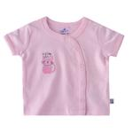 Smart Baby Baby Girls Plain T-shirt,Pink-BIGS20SG552JPNK