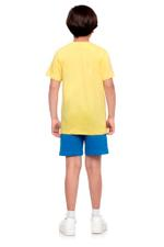 Manchester City Boys T-shirt , Yellow - HWGLS21TN17