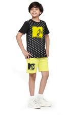 MTV Boys T-shirt , Black - HWGLS21TN19