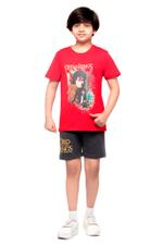 The Lord Of The Rings Boys T-shirt , Red - HWGLS21TN14