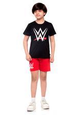 WWE Boys T-shirt , Black - HWGLS21TN05