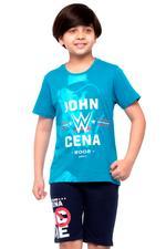 WWE Boys T-shirt , Teal - HWGLS21TN06