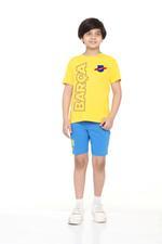 FCB Boys T-shirt , Yellow - HWGLS21TN01