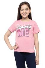 Jojo Siwa Girls T-shirt , Deep Pink - HWGLS21TEE34
