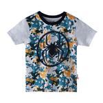 Marvel Boys Printed T-shirt,Ecru Melange,SIMGS20LTF008