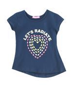 Nexgen Girls Girls T-shirt , Navy - SNGS2035164