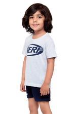 Nerf Boys T-shirt , Grey Melange - HWGLS21TOD01