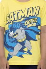 Batman Boys T-shirt , Yellow - HWGLS21TOD03