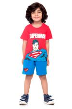 Superman Boys T-shirt , Red - HWGLS21TOD05