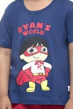 Ryan's World Boys T-shirt , Navy - HWGLS21TOD15