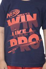 Nerf Boys T-shirt , Navy - HWGLS21TOD02