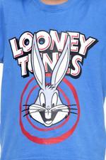 Looney Tunes Boys T-shirt , Blue Green - HWGLS21TOD07
